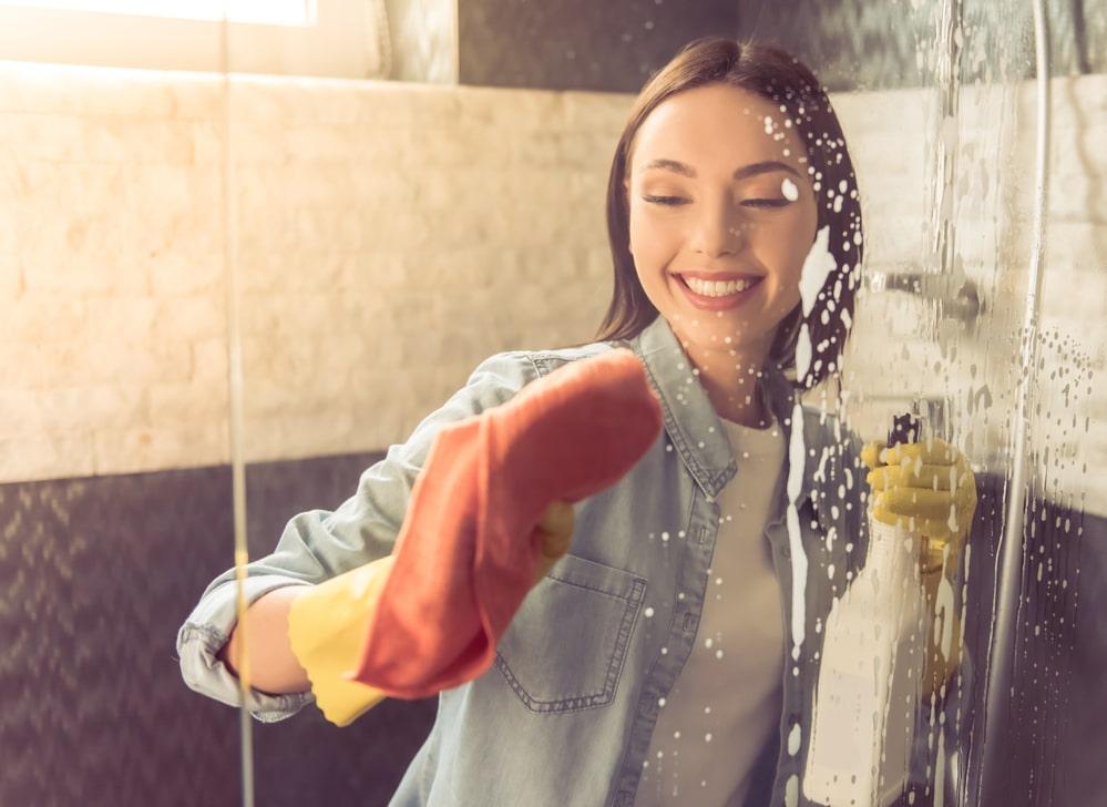Shower Door Buildup Solutions