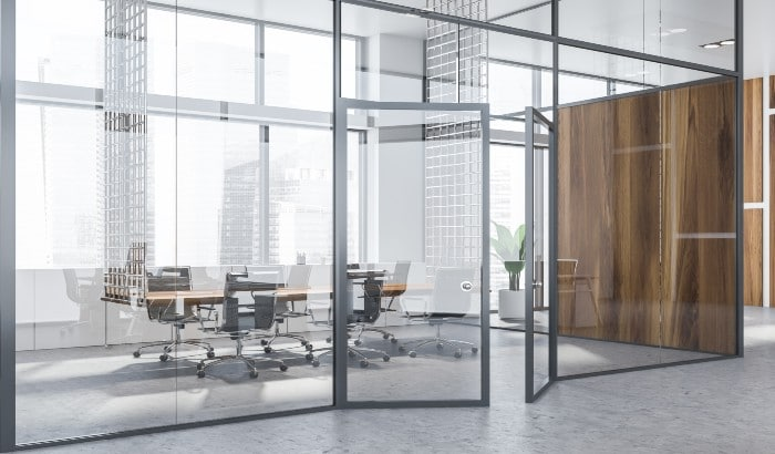 4 Advantages of Commercial Glass Doors in Your Office