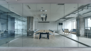 6 Benefits of using Glass Walls in an Office Space
