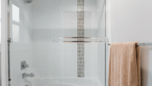 How to Get Hard Water Buildup Off Your Shower Door