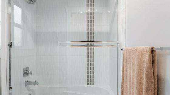 How to Get Hard Water Buildup Off Your Shower Door