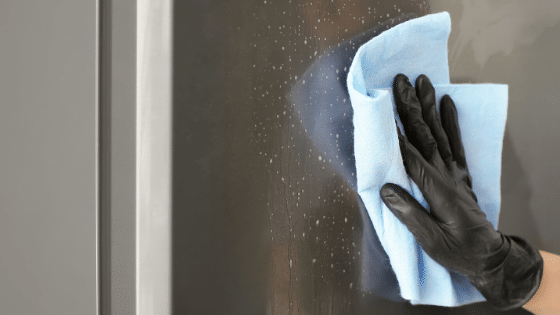 How To Thoroughly Clean Your Shower Door