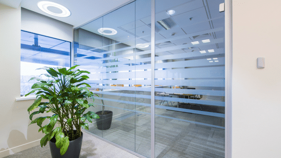 What A Glass Wall Can Do For Your Commercial Space