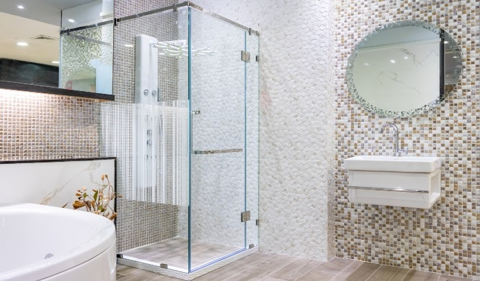 What is an Alcove Shower Door?