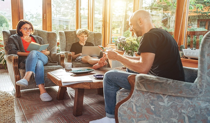 The Health Benefits of a Sunroom
