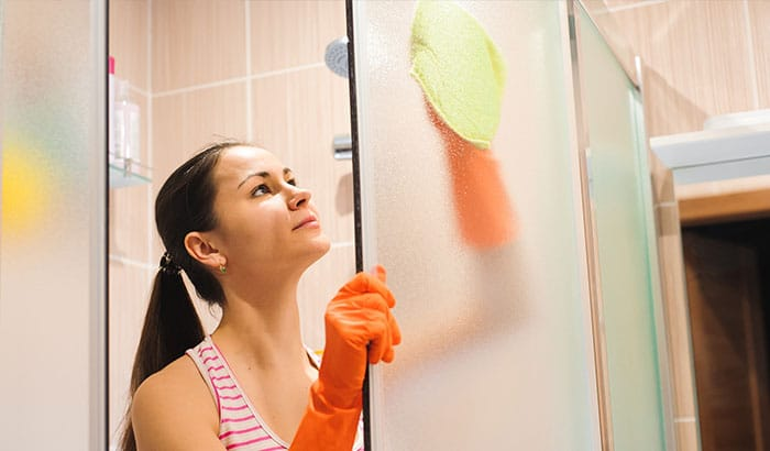What Are the Worst Cleaning Supplies to Use on Glass Shower Doors?