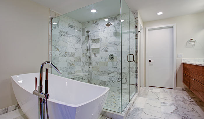 Can You Put Glass Shower Doors on a Tub?